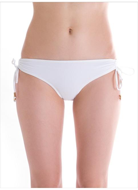 Ayyıldız Bikini Alt Beyaz